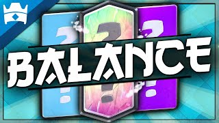 6 CARDS THAT NEED A BALANCE in the CLASH ROYALE JANUARY 2020 UPDATE || Season 7 Update Wishlist!