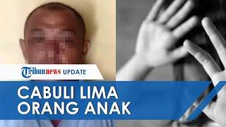 Ditinggal Istri Kerja dan 'Tak Tahan' Jadi Alasan Pedagang Sapi Cabuli 5 Anak di Tulunggagung
