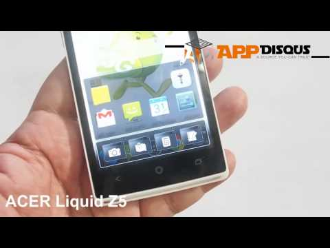 Appdisqus Review : รีวิว Acer Liquid Z5 AIS (เครื่องขายไทย)