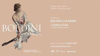 Conferenza Per Le Scuole Boldini E La Moda