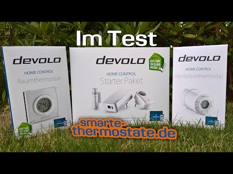 Smart Home Test: devolo Home Control Starter Paket Heizkörperthermostat Raumthermostat