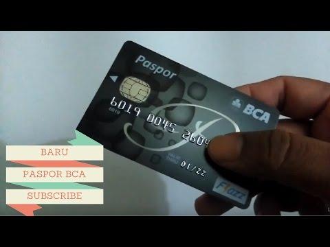 BENTUK BARU PASPOR / KARTU ATM BCA