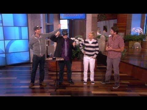 Mind Reader Stuns Ellen and Her Audience