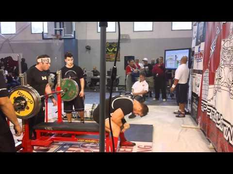 Garrett Gunz Griffin Raw bench 467@196bw Raw Unity4