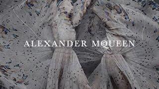 Alexander McQueen & Damien Hirst Scarf Collaboration  A Film