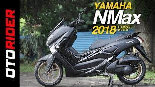 Yamaha NMax 2018 First Ride Review Indonesia | OtoRider