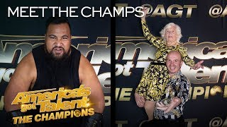 The Competition Is ON For Eddie Williams and Paddy & Nicko! - America's Got Talent: The Champions thumbnail