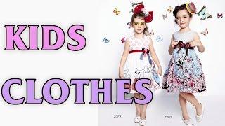 Kids Designer Clothes - 2017 Spring-summer Girls Dresses And Costumes.