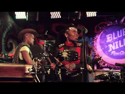 """Water Seed performing """"Open Sesame"""" at the Blue Nile in New Orleans, LA."""