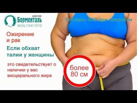 Лишний вес при ок