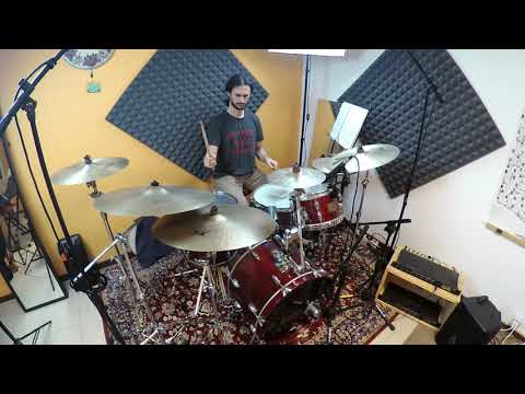 """Alessandro Maggiolino performs """"Hipnotherapy"""" (Peter Erskine Dr.Um Band)"""