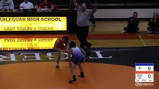 January 10, 2019 Tahlequah Tiger Wrestling vs. Pryor Tigers