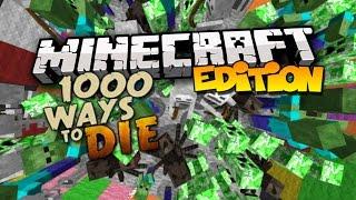 Top 10 Ways to Die in Minecraft (1000 Ways to Die) Part 1
