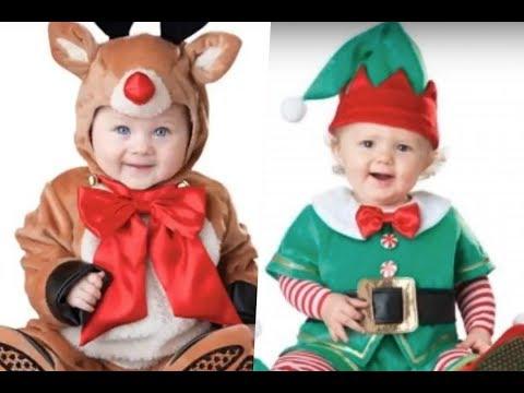 Disfraces navideños para bebes