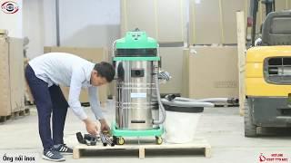 Hướng dẫn lắp đặt Máy hút bụi Supper Clean AC 803