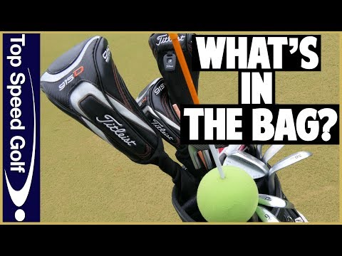 What's In My Golf Bag 2018