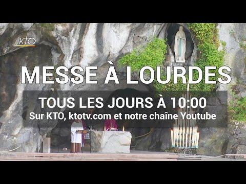Messe à Lourdes du dimanche 10 mai 2020