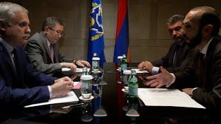 ՀՀ ԱԳ նախարար Արարատ Միրզոյանը հանդիպում է ունեցել ՀԱՊԿ գլխավոր քարտուղար Ստանիսլավ Զասի հետ