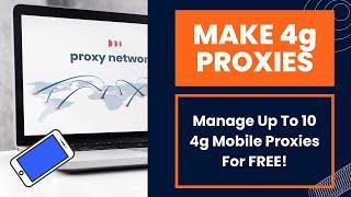 Make 4G Mobile Proxies For FREE   Rasp Pi, 4g Modem, and Proxidize Software