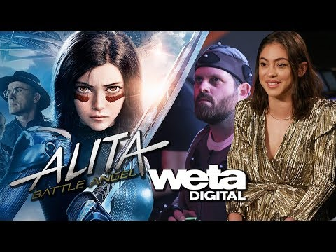 Weta Digital Experience & Interviews for Alita Battle Angel