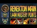 Download Youtube: RENEKTON MONTAGE - 1.44 MILLION MASTERY POINTS - KOREA MASTER RENEKTON BEST PLAYS - RENEKTON MAIN