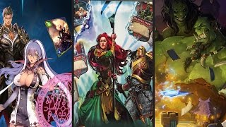 Top Ten Free to Play CCG You Have to Play! 2016