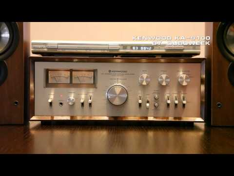 Kenwood KA-9100 Vintage Integrated Amplifier: Hi-Fi Stereo Amplifier demo