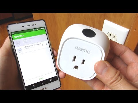 Wemo Insight Smart Plug | Demo and Installation