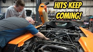Finally Fixing My Cheap Lamborghini Murcielago Roadster, BUT IT BROKE EVEN WORSE