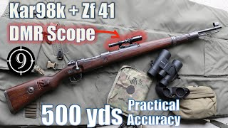 """Kar98k + Zf41 """"DMR"""" to 500 yds: Practical Accuracy """"the PUBG sniper"""" (Feat. InRange TV)"""