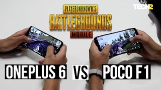 POCO F1 vs Oneplus 6 - PUBG Mobile heat test