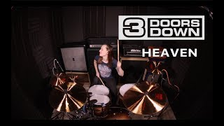 3 Doors Down - Heaven (drum cover by Vicky Fates)