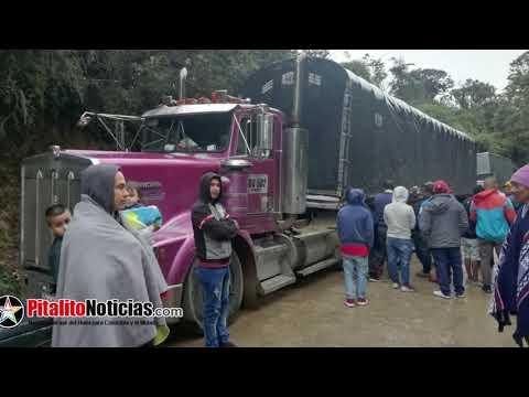 Verguenza para Colombia la via Isnos - Popayan