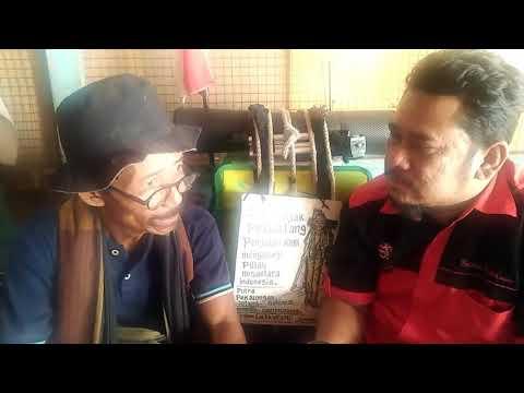 Video wawancara Sutiyo Suyatno Berjalan laki dari jawa tengah ke kota dumai selama 1 tahun 6 bulan