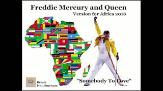 Video Freddie Mercury and Queen   Somebody To Love   African remix 201