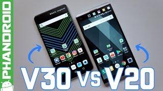 LG V30 vs LG V20: Where's the Second Screen?