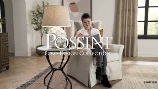 Watch A Video About the Cosgrove Round White Ceramic Table Lamp