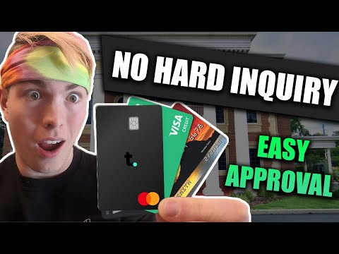 Top 5 NO CREDIT CHECK Credit Cards | Instant Approval With No Credit