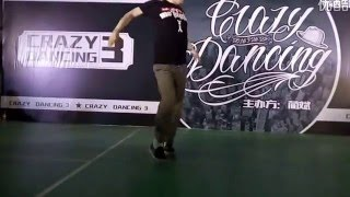 2016 Crazy Dancing vol.3 Poppin Final Hoan vs Slim Boogie