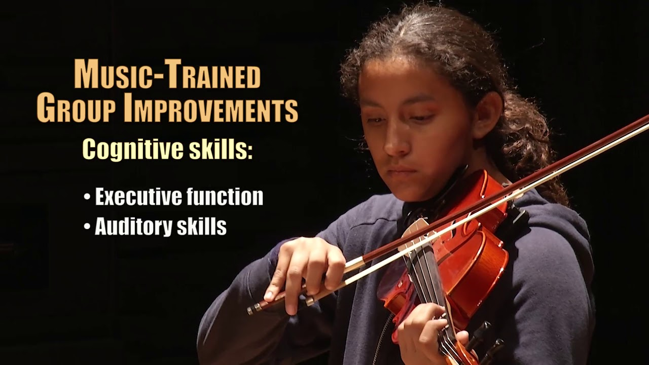 Learning Music Makes Kids Smarter