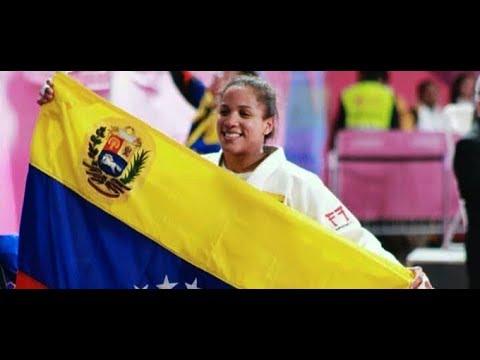 Judoca Elvismar Rodriguez Oro en Juegos Panamericanos Lima 2019 ippon !