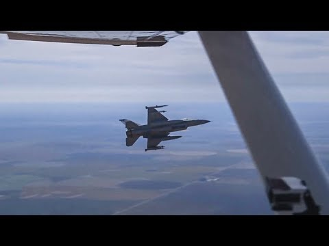 Getting Intercepted By A Fighter Jet