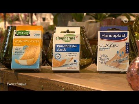 Test: (auch wasserfeste) Wundpflaster / 5:06 Herzinfarkt bei Frauen (06.09.2019 Live nach neun)