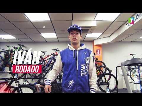 Info-40: Iván Rodado, triatleta delProyecto Team Clavería para la temporada 2018. TeamClaveria Files 02/2018