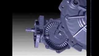 Inventor 2014 Bevel Gear Box