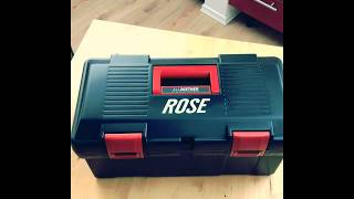 Unboxing von Rose All2gether Reparaturbox Performance XL