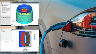 Optimizing thermal management design of electric vehicles using CFD simulation