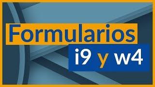 Formulario I9 y w4 IRS