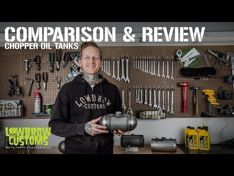 Comparison and Review: Chopper Oil Tanks for Custom Motorcycles