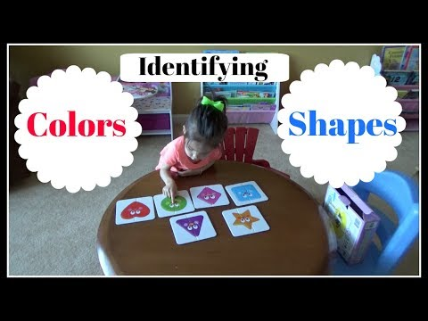 Teaching My Toddler Colors & Shapes